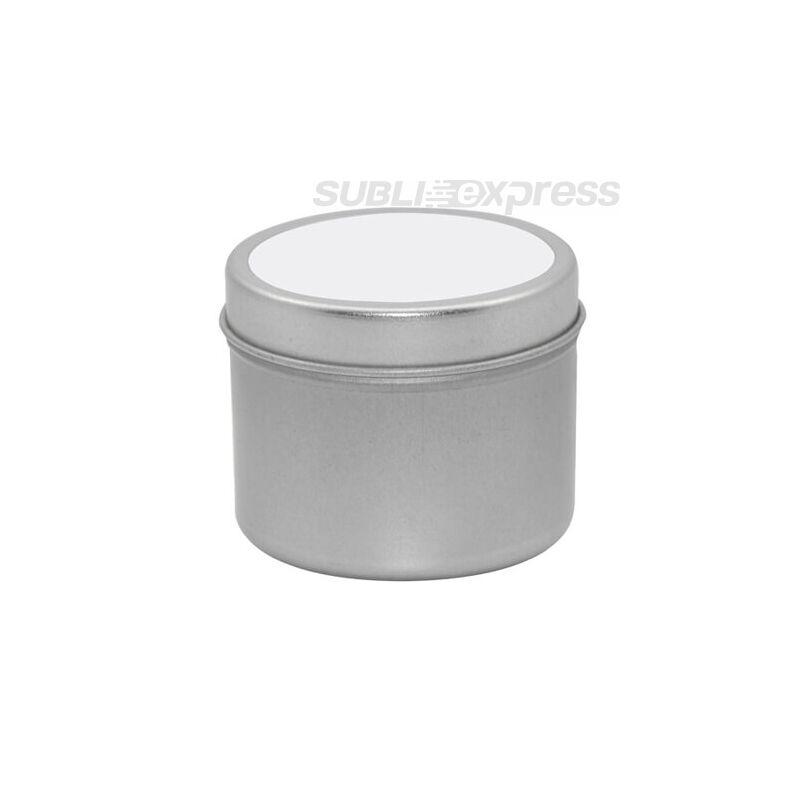 Szublimációs illatgyertya fémdobozban nagy