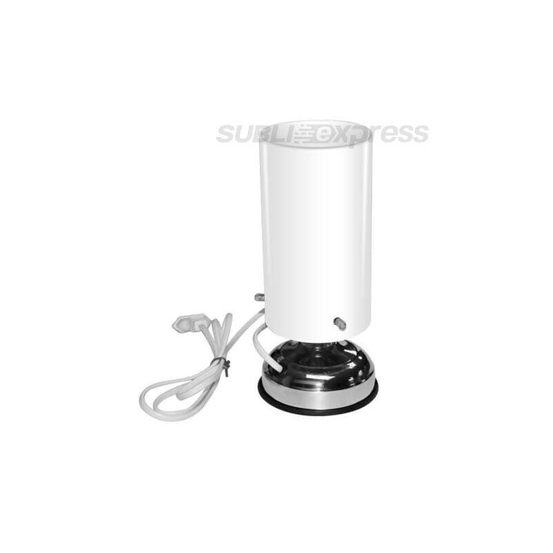 Szublimációs állólámpa üveg lámpabúrával