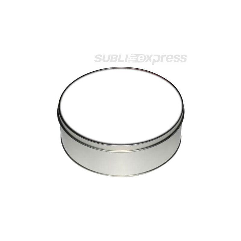 Szublimációs fém doboz kör alakú