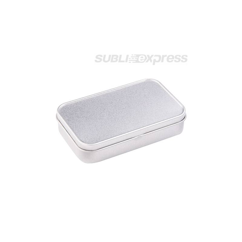 Szublimációs fém doboz kis méretű, szögletes