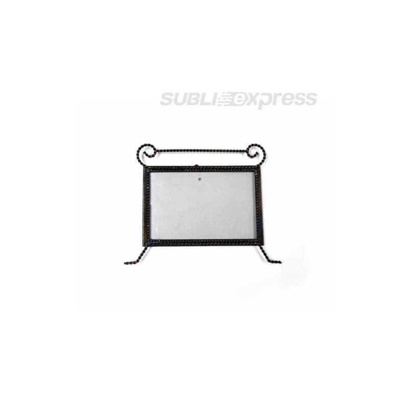 20 x 15 cm-es szublimációs fém képkeret bronzírozott