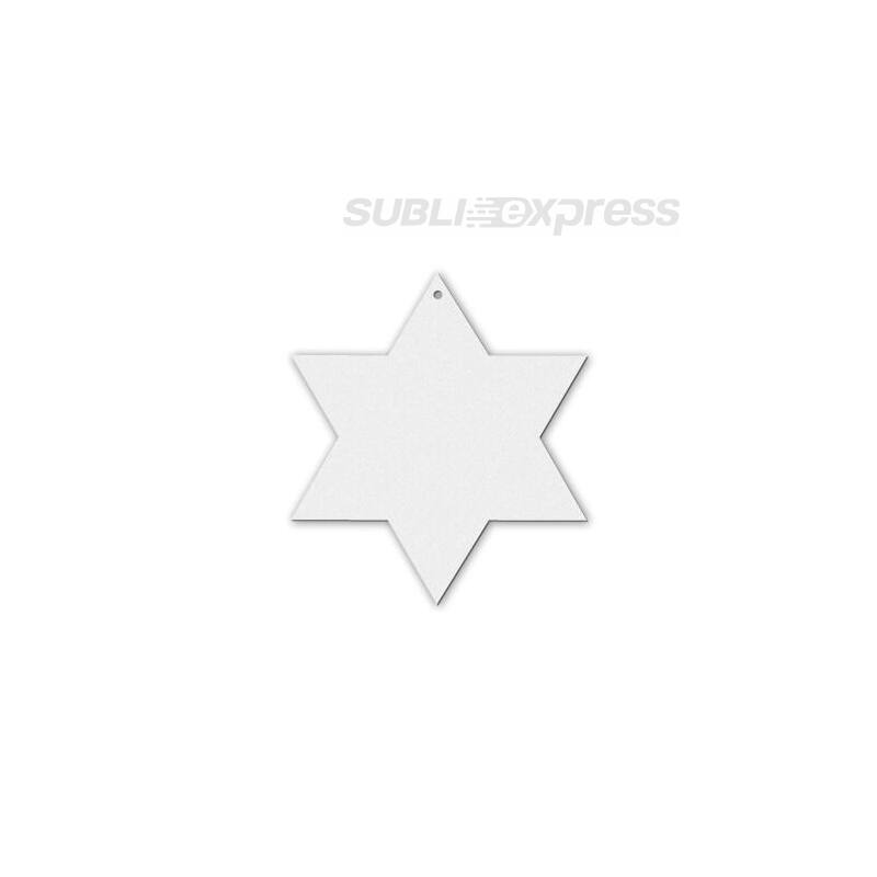 Szublimációs filc dísz csillag alakú