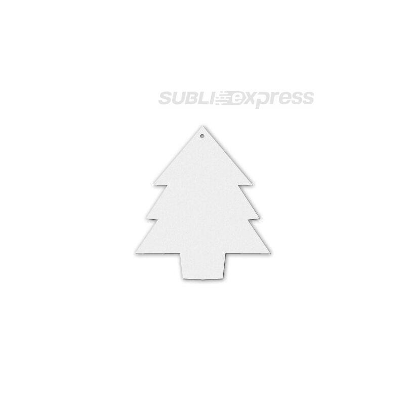 Szublimációs filc dísz karácsonyfa alakú