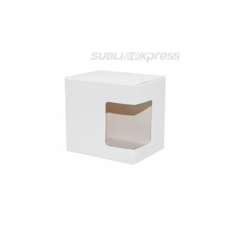 Poliészter bevonatú karton doboz ablakkal nélkül 330 ml-es bögrékhez