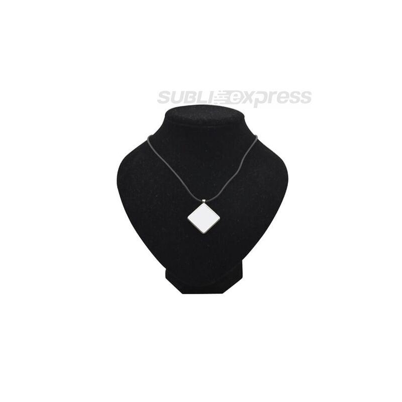 Szublimációs medál gyémánt alakú