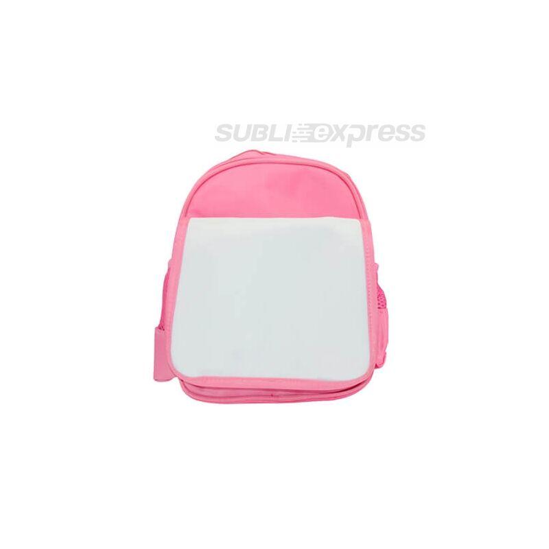 Szublimációs gyerek hátizsák rózsaszín